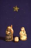 De leuke Scène van de Geboorte van Christus stock afbeelding