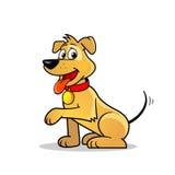 De leuke Vector van de Hond Royalty-vrije Stock Foto's