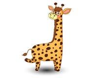 De leuke vector van het Girafbeeldverhaal Stock Fotografie