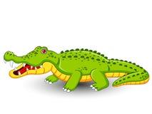 De leuke vector van het Krokodilbeeldverhaal Stock Afbeelding