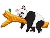De leuke vector van het Pandabeeldverhaal Stock Afbeeldingen