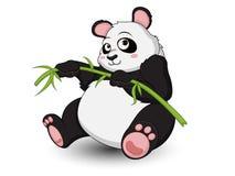De leuke vector van het Pandabeeldverhaal Royalty-vrije Stock Foto's