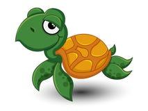 De leuke vector van het Schildpadbeeldverhaal Royalty-vrije Stock Afbeeldingen