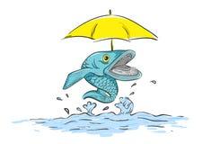 De leuke vissen stock illustratie
