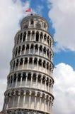 De leunende Toren van Pisa stock foto