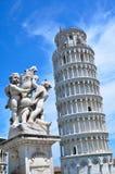 De Leunende toren van Pisa Stock Fotografie