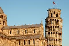 De Leunende Toren van Pisa Royalty-vrije Stock Foto