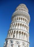 De leunende toren van Pisa, Italië stock afbeelding