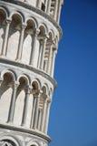 De leunende toren van Pisa, Toscanië, Italië royalty-vrije stock afbeelding