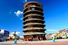 De leunende toren van Teluk Intan Royalty-vrije Stock Afbeeldingen