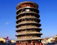 De leunende toren van Teluk Intan Royalty-vrije Stock Fotografie