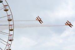 De leurders van de Breitlingsvleugel bij de lucht van Blackpool tonen Stock Afbeeldingen