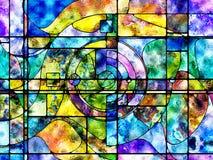 De Levende Kleurenafdeling vector illustratie