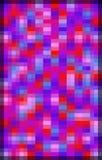 De levendige Dubbele Achtergrond van het Pixel royalty-vrije stock fotografie