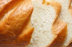 De levensmiddelen van de bakkerij. Ontsproten in een studio Stock Afbeelding