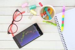 de levensstijl van de beurssfeer elke dag Stock Fotografie