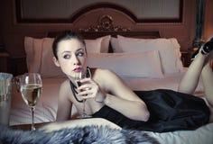 De levensstijl van de luxe Stock Foto