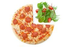 De levensstijlkeus van het voedsel Stock Fotografie