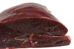 De lever van het kalfsvlees royalty-vrije stock foto