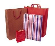 De levering aan eindgebruikers van het de zakconsumentisme van Shoping stock foto's
