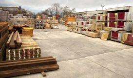 De levering van de bouw en van de bouw Stock Afbeeldingen