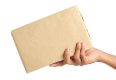 De levering van het pakket Royalty-vrije Stock Fotografie