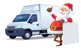 De levering van Kerstmis Stock Afbeeldingen