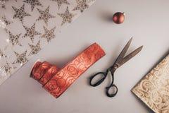 De levering van de Kerstmisambacht royalty-vrije stock afbeelding