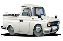 De leveringsbestelwagen van het beeldverhaal Royalty-vrije Stock Foto
