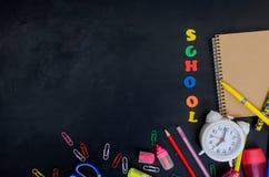 De leveringsframe van de school en van het bureau Stock Fotografie