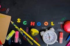 De leveringsframe van de school en van het bureau Royalty-vrije Stock Foto