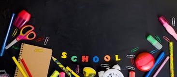 De leveringsframe van de school en van het bureau Royalty-vrije Stock Fotografie