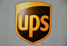 De leveringsmerk van UPS Royalty-vrije Stock Afbeeldingen