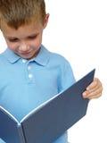 De lezing van de jongen Stock Afbeelding