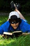 De lezing van de zomer stock afbeeldingen