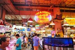 De Lezings Eindmarkt in Philadelphia, PA royalty-vrije stock foto's