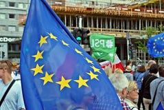 ` De Liberty March de ` de prise de groupes de l'opposition Photos stock