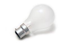 De licht-bol van het wolfram die op wit wordt geïsoleerdr. Royalty-vrije Stock Foto