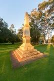 10de Licht Paardgedenkteken - Perth, Australië Royalty-vrije Stock Foto