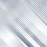 De lichtblauwe abstracte geometrische achtergrond van technologie Stock Afbeelding