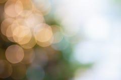 De lichte abstracte achtergrond van Bokeh Stock Afbeelding