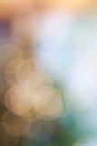 De lichte abstracte achtergrond van Bokeh Stock Foto's