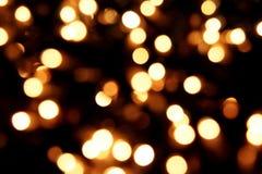 De lichte achtergrond van Kerstmis stock foto's
