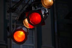 De lichte apparatuur van het stadium Stock Afbeeldingen