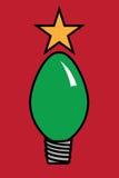 De Lichte Boom van Kerstmis royalty-vrije illustratie