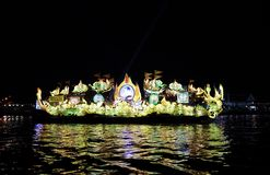 De lichte boot Stock Afbeeldingen