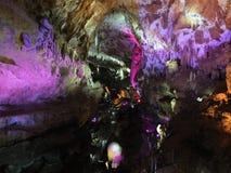 De lichte fee toont in het hol van Prometheus Royalty-vrije Stock Foto