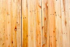 De lichte houten achtergrond van de muurtextuur Stock Foto
