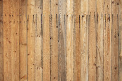 De lichte houten textuur van de plankmuur Stock Foto