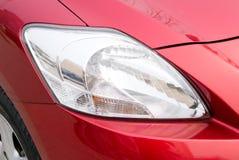 De lichte koplamp van de auto Stock Foto's